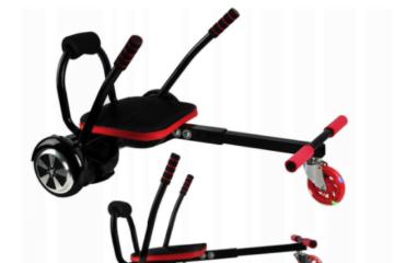 Transformă-ţi hoverboardul într-un dispozitiv de distracţie în gaşca cu ajutorul unui hoverkart